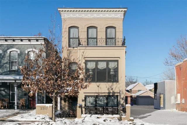2217 Clarkson Street, Denver, CO 80205 (#2027011) :: Wisdom Real Estate