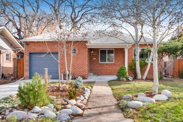1048 S Madison Street, Denver, CO 80209 (#2031674) :: 5281 Exclusive Homes Realty