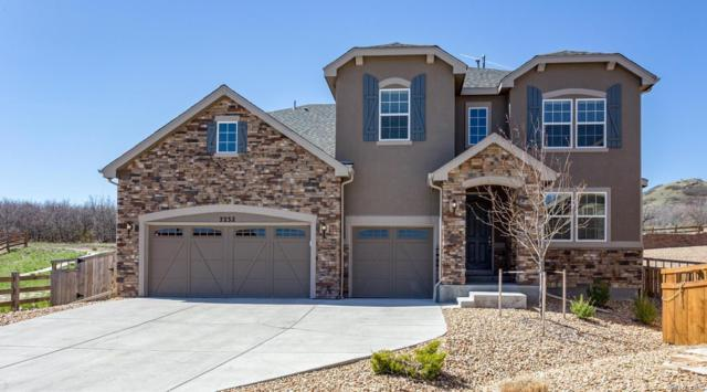 7232 Oasis Drive, Castle Rock, CO 80108 (#2031721) :: The Peak Properties Group