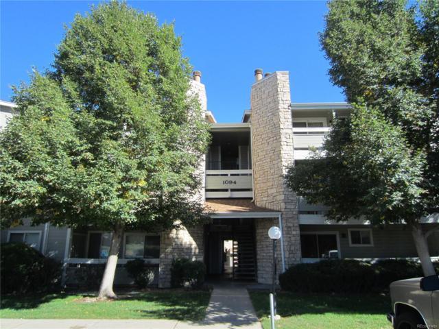 1094 S Dearborn Street #206, Aurora, CO 80012 (MLS #2033315) :: 8z Real Estate