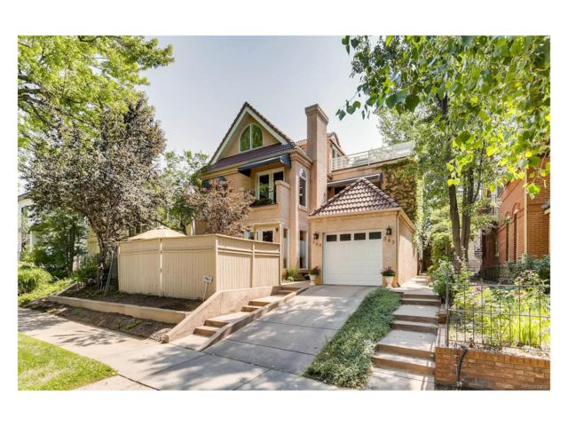 342 Madison Street, Denver, CO 80206 (#2033674) :: Thrive Real Estate Group