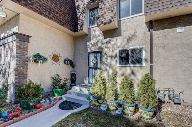 7755 E Quincy Avenue T11, Denver, CO 80237 (MLS #2036037) :: Keller Williams Realty