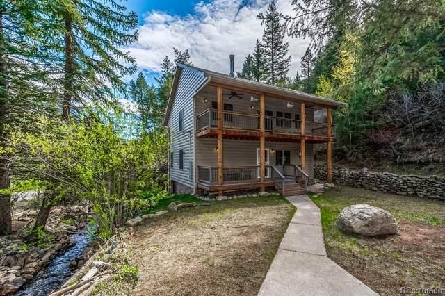 998 Soda Creek Road, Idaho Springs, CO 80452 (#2042493) :: Berkshire Hathaway Elevated Living Real Estate