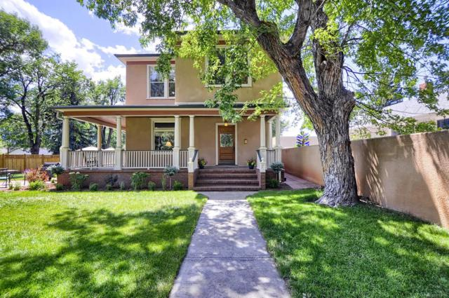 2220 N Cascade Avenue, Colorado Springs, CO 80907 (#2046556) :: The Griffith Home Team