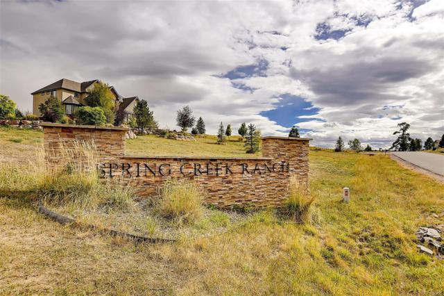 11918 Dunrich Road, Parker, CO 80138 (#2047542) :: Bring Home Denver