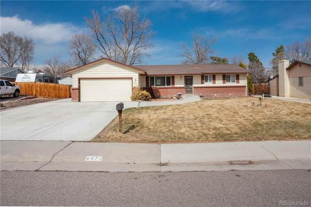 6471 W Arbor Avenue, Littleton, CO 80123 (#2049672) :: The Dixon Group