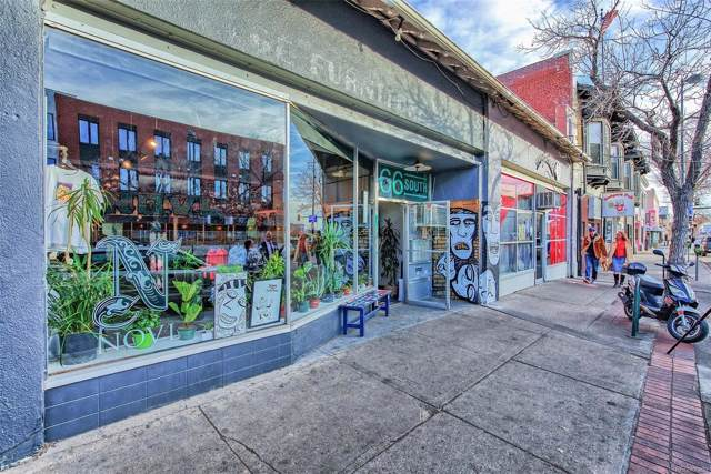 66 S Broadway, Denver, CO 80209 (#2051620) :: Wisdom Real Estate