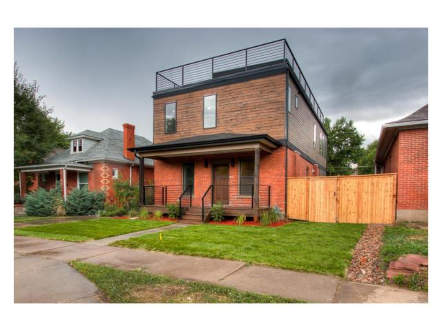 1240 S Clarkson Street, Denver, CO 80210 (#2052738) :: The Pete Cook Home Group