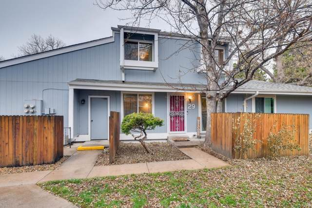 2557 S Dover Street #29, Lakewood, CO 80227 (#2054939) :: Bring Home Denver with Keller Williams Downtown Realty LLC