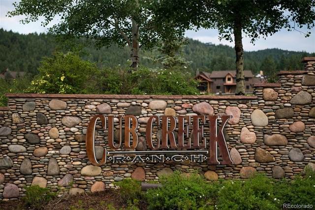 6413 Little Cub Creek Road, Evergreen, CO 80439 (#2055529) :: Berkshire Hathaway HomeServices Innovative Real Estate