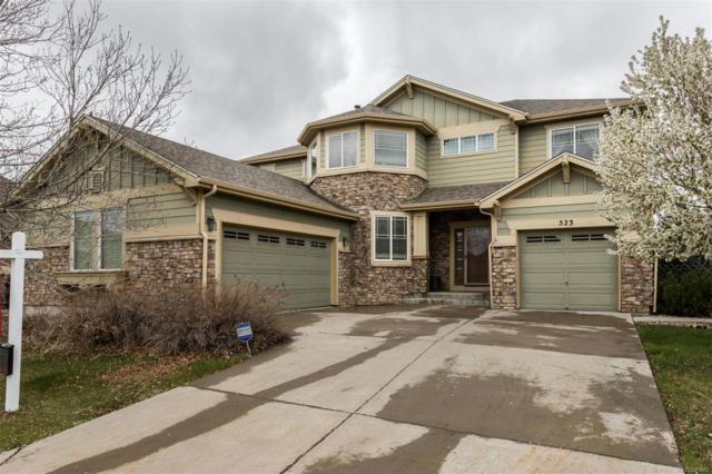 523 N Flat Rock Circle, Aurora, CO 80018 (#2056663) :: The Pete Cook Home Group