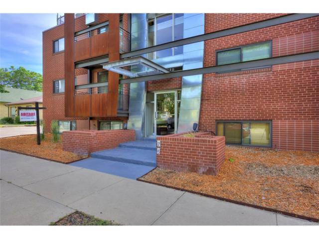 75 N Emerson Street #103, Denver, CO 80218 (MLS #2062306) :: 8z Real Estate