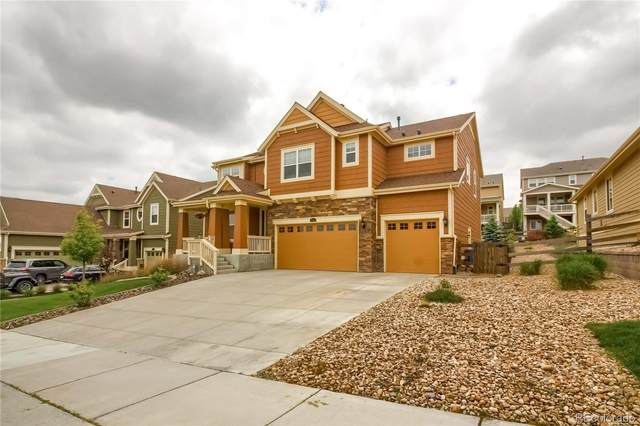 17344 W 84th Drive, Arvada, CO 80007 (#2068219) :: The Harling Team @ Homesmart Realty Group