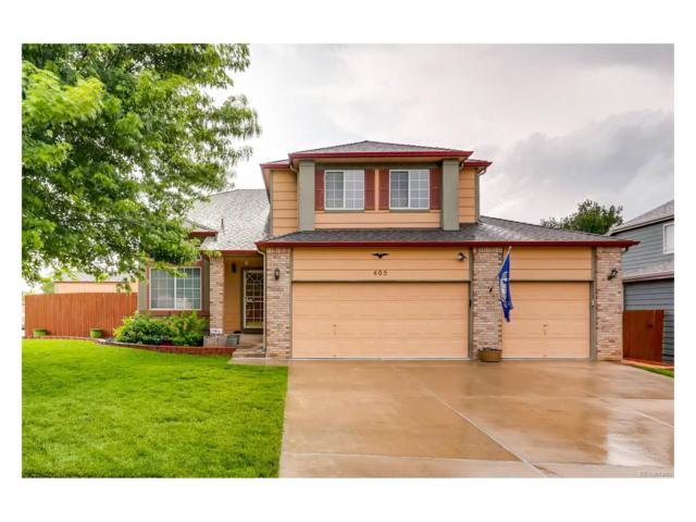 405 Dunhill Street, Castle Rock, CO 80104 (MLS #2069240) :: 8z Real Estate