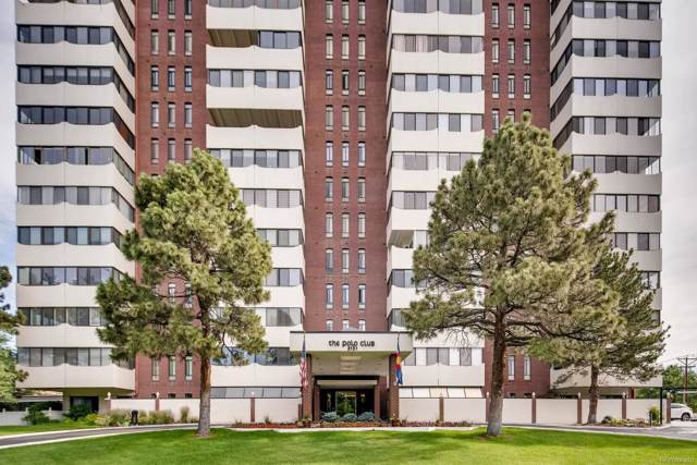 3131 E Alameda Avenue #1204, Denver, CO 80209 (#2071048) :: The HomeSmiths Team - Keller Williams