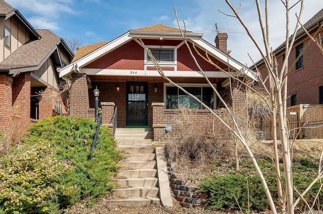 844 S Gilpin Street, Denver, CO 80209 (#2073886) :: 5281 Exclusive Homes Realty