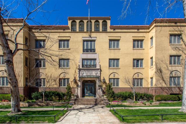 1515 E 9th Avenue #107, Denver, CO 80218 (#2075649) :: The Healey Group