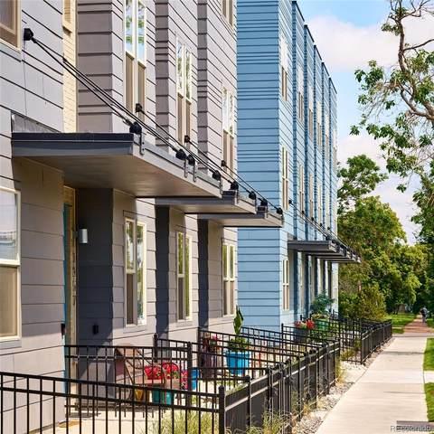 1267 W 9th Avenue #52, Denver, CO 80204 (#2077608) :: Mile High Luxury Real Estate
