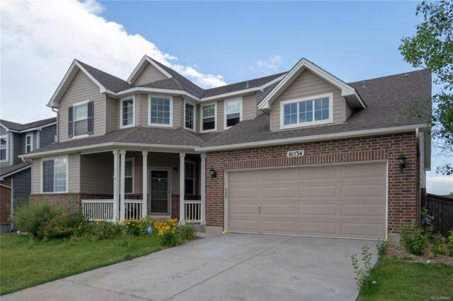 16534 E Fire Fly Avenue, Parker, CO 80134 (#2079160) :: The HomeSmiths Team - Keller Williams