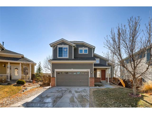 5431 Ben Park Circle, Parker, CO 80134 (#2080369) :: Colorado Home Finder Realty