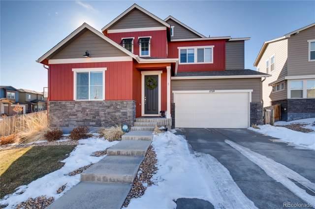 1759 Corner Rock Lane, Castle Rock, CO 80108 (MLS #2083468) :: 8z Real Estate