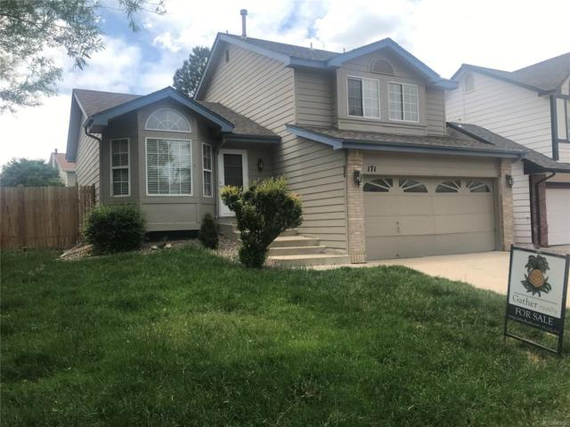 171 S Amherst Street, Castle Rock, CO 80104 (#2084779) :: The Peak Properties Group