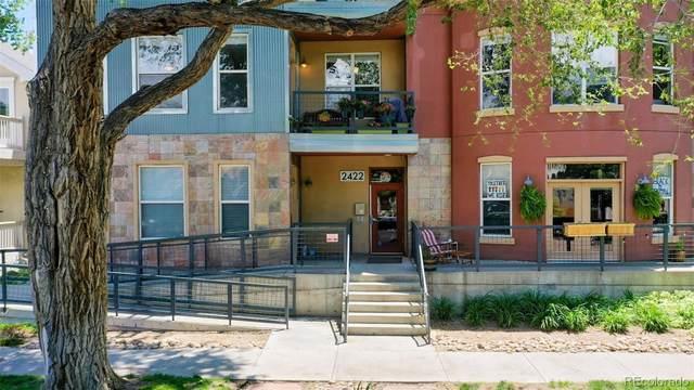2422 Tremont Place #201, Denver, CO 80205 (MLS #2087730) :: 8z Real Estate