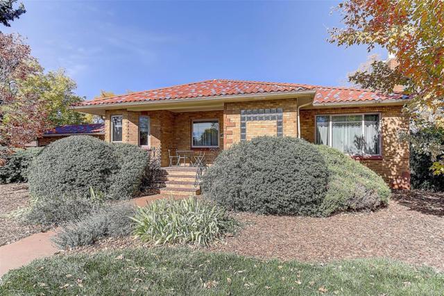 2611 Leyden Street, Denver, CO 80207 (#2088275) :: House Hunters Colorado