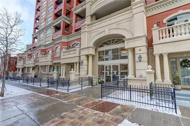 1950 N Logan Street #1002, Denver, CO 80203 (#2091865) :: Stephanie Fryncko | Keller Williams Integrity