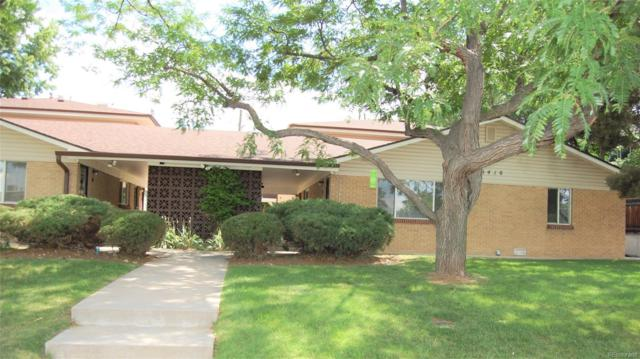 6410 W 44th Place B1, Wheat Ridge, CO 80033 (#2095939) :: The Pete Cook Home Group