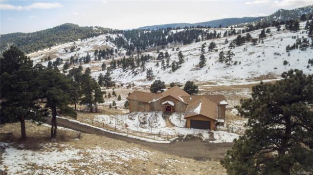 27688 Misty Road, Golden, CO 80403 (#2098915) :: Hometrackr Denver