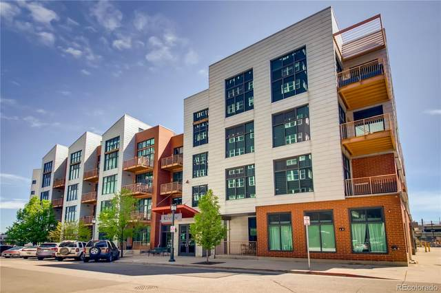 3100 Huron Street 3F, Denver, CO 80202 (MLS #2100055) :: Re/Max Alliance