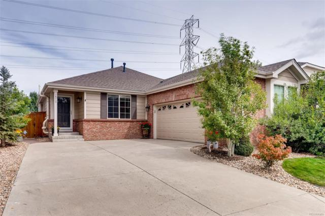 16705 Trail Sky Circle, Parker, CO 80134 (#2100821) :: The Peak Properties Group