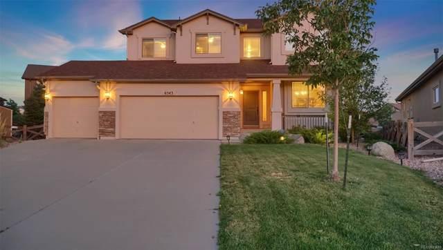 6543 Myrtle Creek Drive, Colorado Springs, CO 80927 (MLS #2100967) :: 8z Real Estate