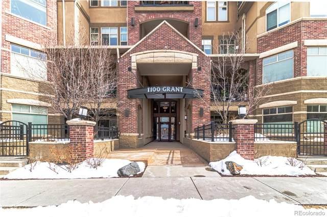 1100 N Grant Street #303, Denver, CO 80203 (MLS #2101092) :: 8z Real Estate