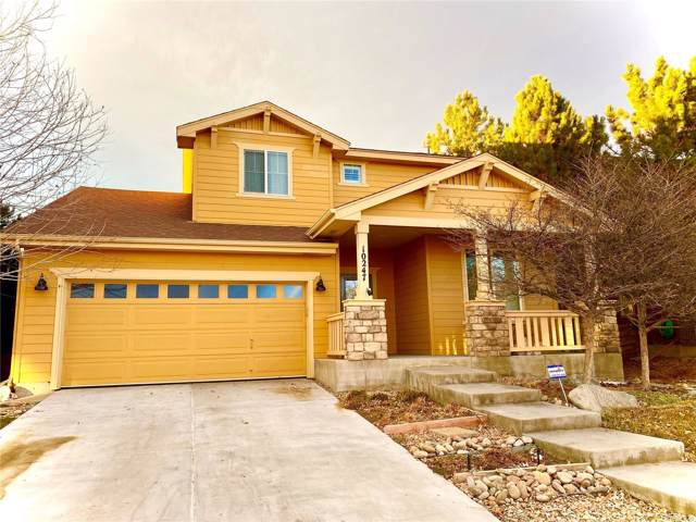10247 Telluride Way, Commerce City, CO 80022 (MLS #2103644) :: Kittle Real Estate