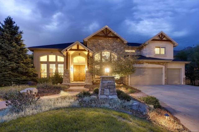 9015 Scenic Pine Drive, Parker, CO 80134 (#2106659) :: The Peak Properties Group