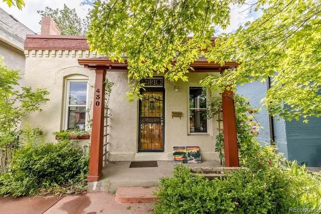 430 Cherokee Street, Denver, CO 80204 (MLS #2106933) :: Find Colorado