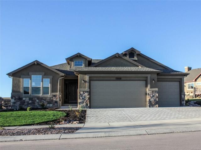 1589 Yellow Tail Drive, Colorado Springs, CO 80921 (#2109615) :: The Pete Cook Home Group
