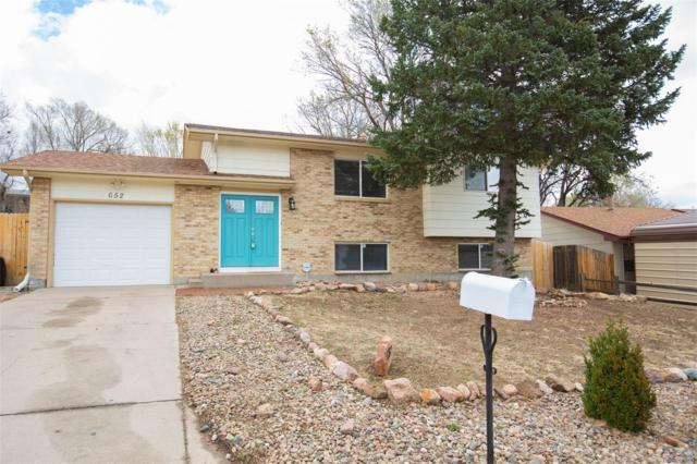 652 Squire Street, Colorado Springs, CO 80911 (#2110017) :: The Galo Garrido Group