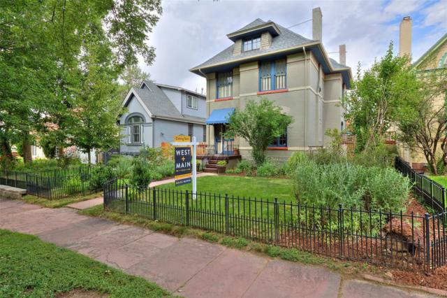 1260 Gaylord Street, Denver, CO 80206 (#2116942) :: The Heyl Group at Keller Williams