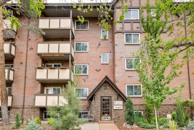 1270 N Marion Street #103, Denver, CO 80218 (#2117521) :: The Griffith Home Team