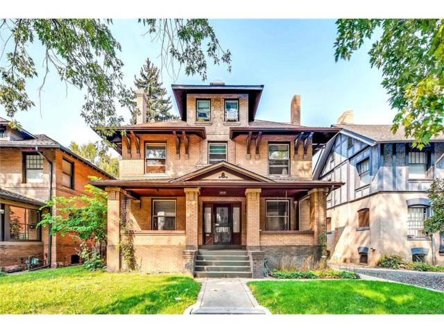 849 N Humboldt Street, Denver, CO 80218 (#2121608) :: Thrive Real Estate Group