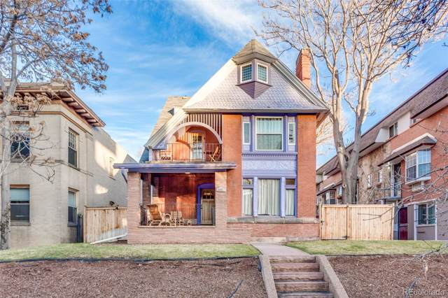 1160 York Street, Denver, CO 80206 (#2121771) :: The Griffith Home Team
