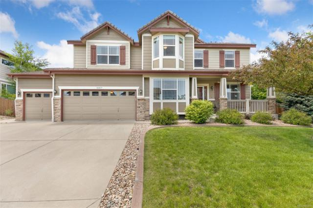 16817 E Black Horn Drive, Parker, CO 80134 (#2125281) :: The Heyl Group at Keller Williams