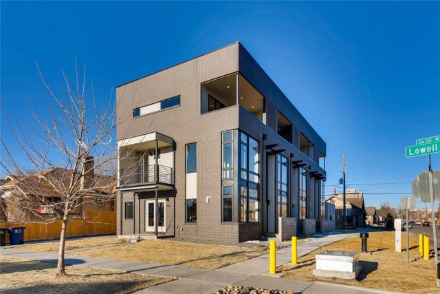 3608 W Conejos Place, Denver, CO 80204 (#2125916) :: The Peak Properties Group