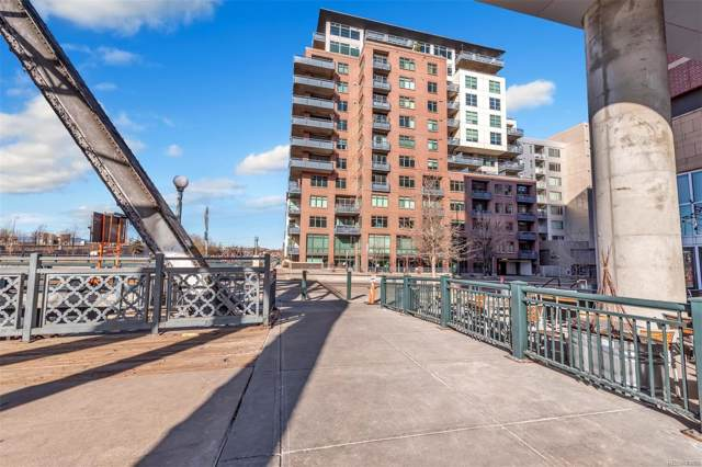1401 Wewatta Street #402, Denver, CO 80202 (#2126473) :: Bring Home Denver with Keller Williams Downtown Realty LLC