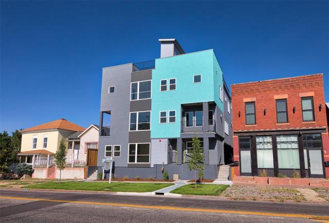3450 Downing Street #6, Denver, CO 80205 (#2126684) :: Bring Home Denver