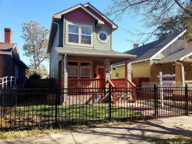 3932 Tejon Street, Denver, CO 80211 (#2126999) :: Bring Home Denver