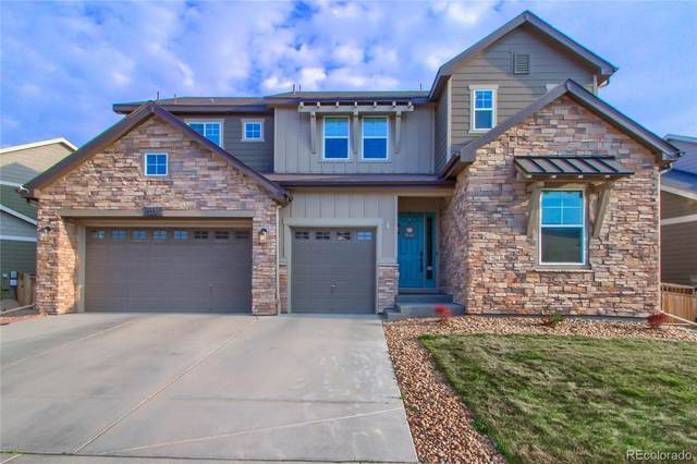 2075 Treetop Drive, Castle Rock, CO 80109 (#2127204) :: The DeGrood Team